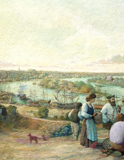 18e siècle Acadiens à Chantenay (Nantes)