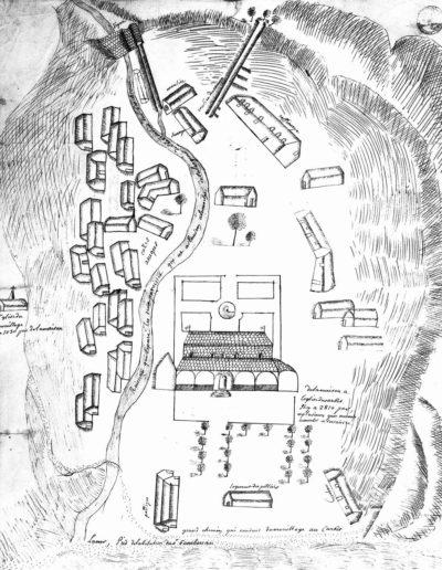 Logement des esclaves des plantations