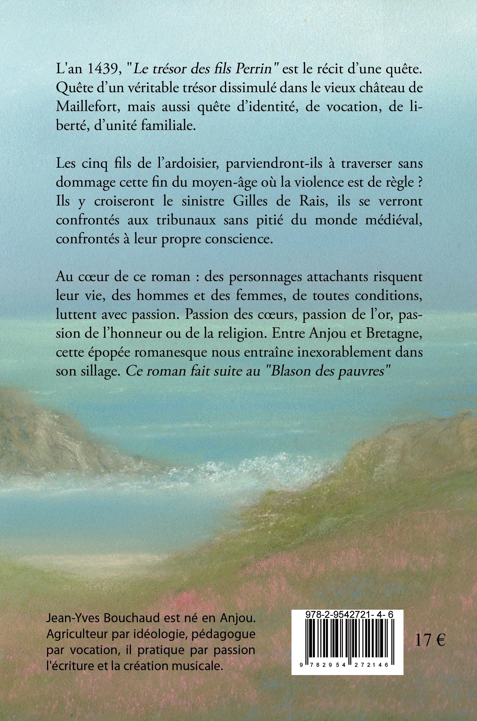 4e Couv Le trésor des fils Perrin