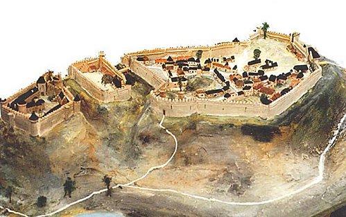 citadelle maquette